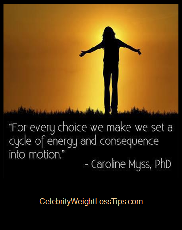 Carolyn Myss on Choice: For every choice we make, we set a cycle of energy and consequence into motion.