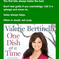Valerie Bertinelli's One Dish at a Time