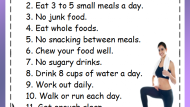 12 weight loss rules