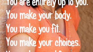 You Make Yourself
