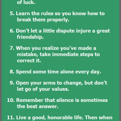 18 Rules of Life via the Dalai Lama