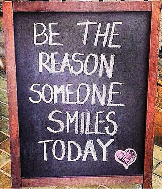 Fitness Chalk Talks: Be the Reason Someone Smiles Today