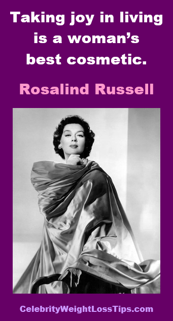 Rosalind Russell on a Woman's Beauty