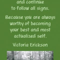 Victoria Erickson on becoming your best