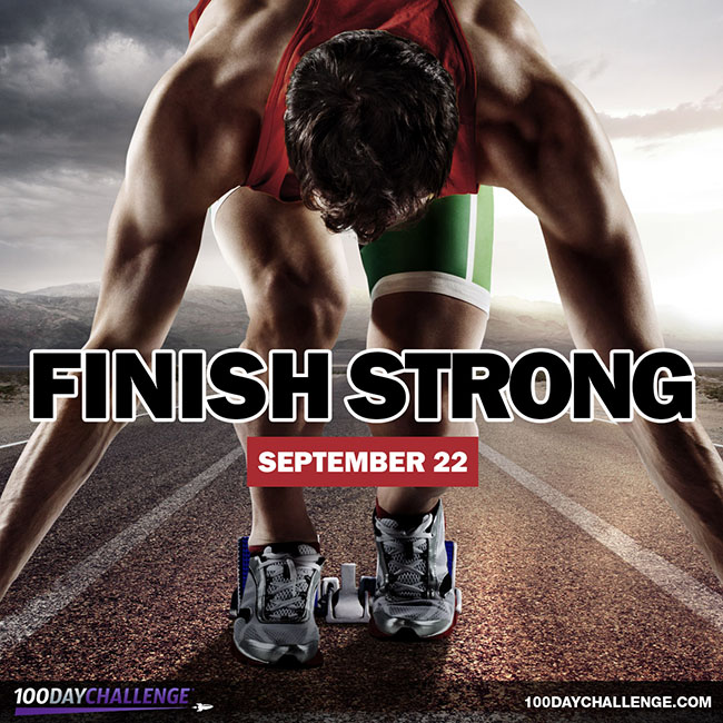 Finish Strong: The 100-Day Challenge