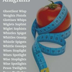 Weight Loss Tips Anagrams