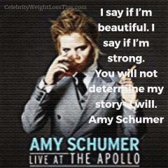 Amy Schumer on Beauty