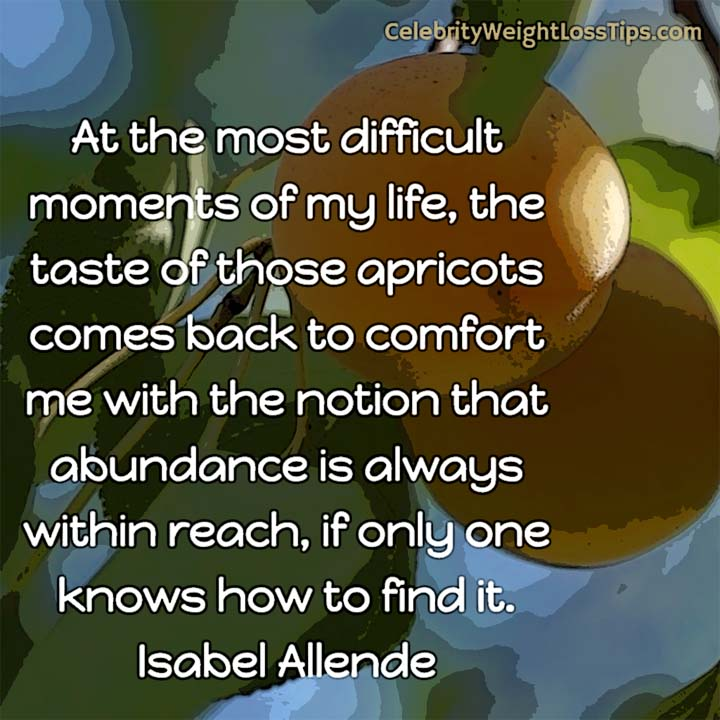 Isabel Allende on Abundance