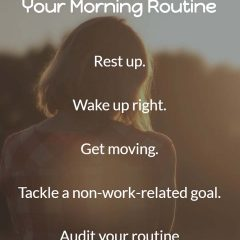 Perfect Your Morning Routine