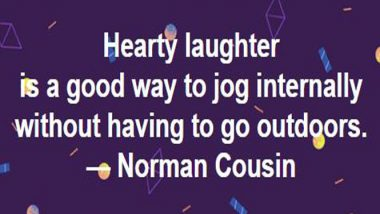 Norman Cousins on laughter
