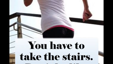 Exercise tips: Take the Stairs