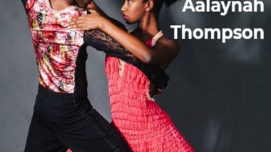 Dance with Your Heart: It is with your feet that you move, but it is with your heart that you dance. - Aalaynah Thompson