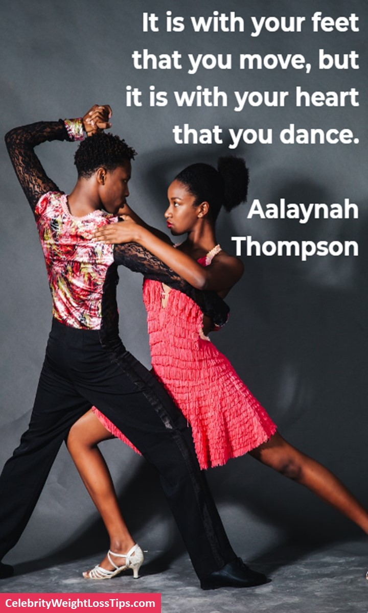 Dance with Your Heart: It is with your feet that you move, but it is with your heart that you dance. - Aalaynah Thompson #dance #dancing