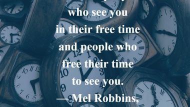 Mel Robbins on Time