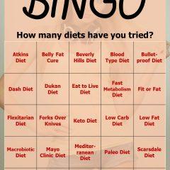 Diet Diet Diet Bingo