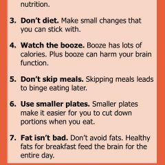7 top tips for a slim healthy body