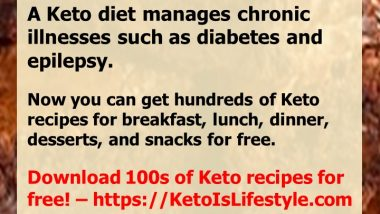 Keto Is Lifestyle Recipes