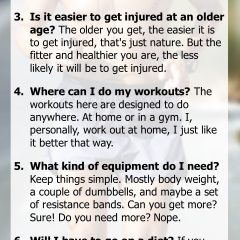 Top Fitness Strategies exercise FAQs for people over 50