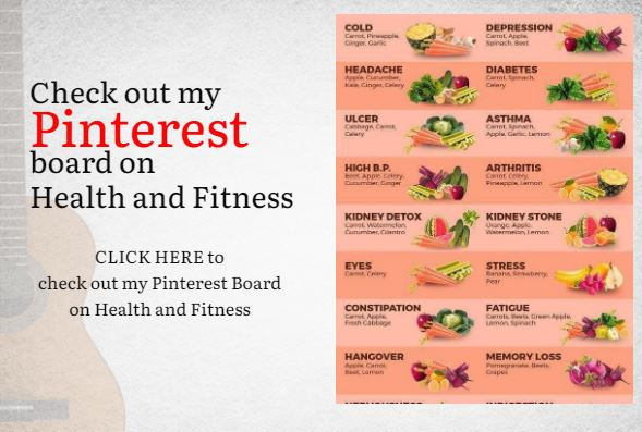 Pinterest Board on Health and Fitness Motivation