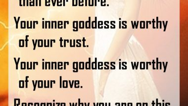 Let Your Goddess Shine Through