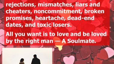 Soulmate Matcher - Finding a Soulmate - relationships book
