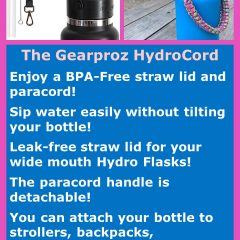 Gearproz HydroCord for Hydro Flasks!
