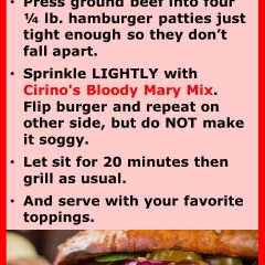 Marinated Hamburgers recipe